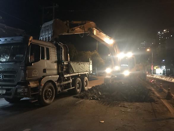 Khởi công dự án xóa ngập nước dài 5 km đường Huỳnh Tấn Phát - Ảnh 1.