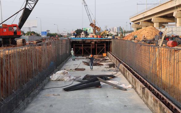 TP.HCM tăng tốc thi công dự án giao thông - Ảnh 1.