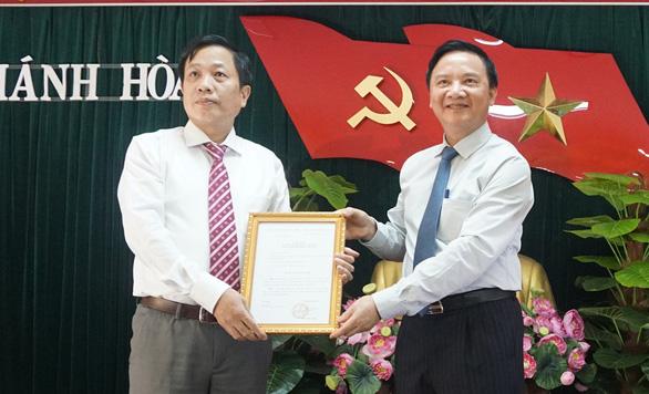 Ủy viên Ủy ban Kiểm tra trung ương làm phó bí thư Tỉnh ủy Khánh Hòa - Ảnh 1.