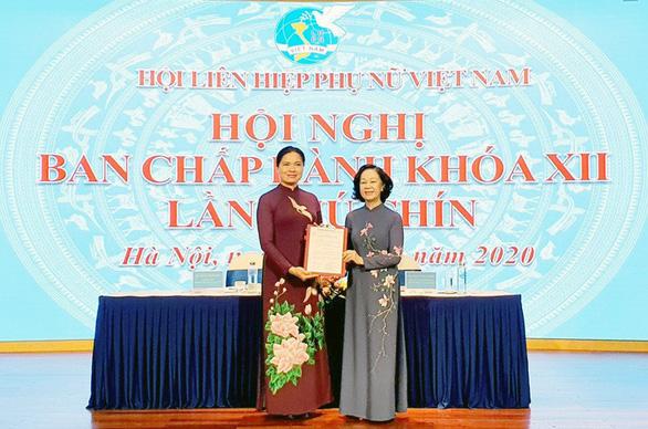 Bà Hà Thị Nga được bầu làm chủ tịch Hội Liên hiệp phụ nữ Việt Nam - Ảnh 1.