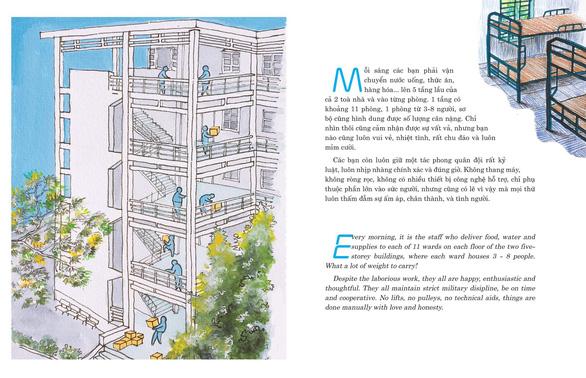 Kiến trúc sư ra sách ký họa cách ly COVID-19 gây quỹ từ thiện - Ảnh 5.