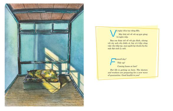 Kiến trúc sư ra sách ký họa cách ly COVID-19 gây quỹ từ thiện - Ảnh 8.