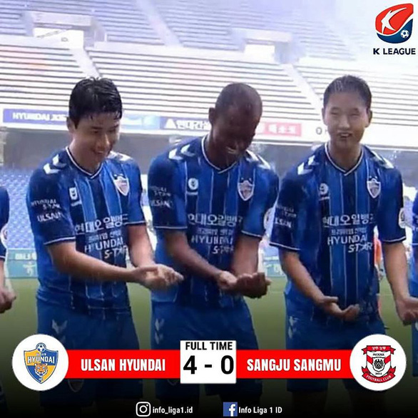 Trở lại sau COVID-19, Ulsan Hyundai trút mưa bàn thắng vào lưới đội cũ của thầy Park - Ảnh 2.