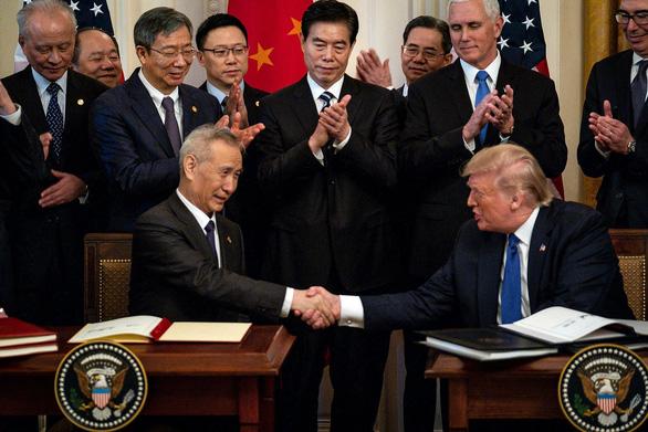 Tổng thống Trump nói đang trong thời kỳ khó khăn với Trung Quốc - Ảnh 1.