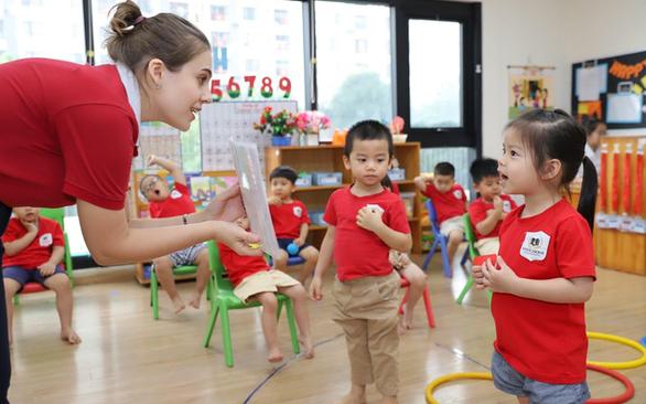 Gần 12.000 học sinh TP.HCM học trường dạy chương trình nước ngoài - Ảnh 1.