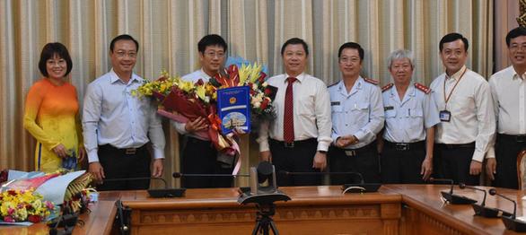 TP.HCM: ông Trần Thanh Tùng làm Chủ tịch UBND Quận 8 - Ảnh 1.