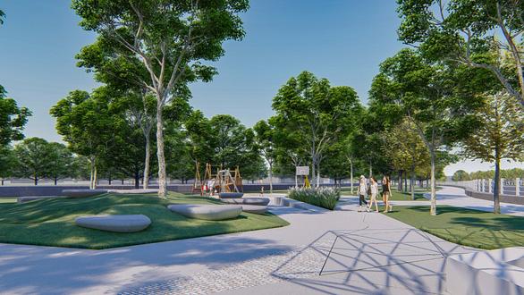 'Mảng xanh' mới cho TP Biên Hòa - Ảnh 4.