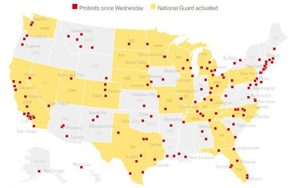 Bạo loạn nghiêm trọng nhất ở Mỹ kể từ sau vụ ám sát mục sư Martin Luther King - Ảnh 1.