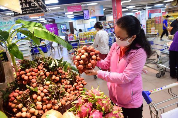 Saigon Co.op bán vải thiều qua ví MoMo, giá 19.600 đồng/ký - Ảnh 1.