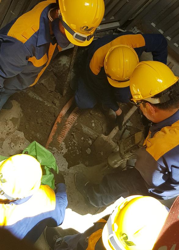 Vụ người chết 2 năm vẫn ký xác nhận đất: Nghiệm thu đường cống thoát nước - Ảnh 2.