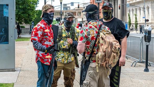 Tình báo Mỹ tìm ra các nhóm kích động biểu tình bạo lực - Ảnh 2.