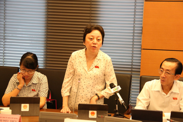 Đại biểu Phạm Khánh Phong Lan: Xử phạt hành chính không chỉ bằng tiền - Ảnh 1.