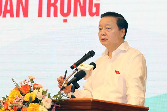 Bộ trưởng Trần Hồng Hà: 'Tập trung quản lý 300-400 doanh nghiệp gây 80% ô nhiễm' - Ảnh 1.