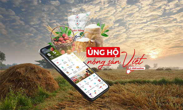 Ủng hộ nông sản Việt: Giá siêu hấp dẫn trong ngày mở bán - Ảnh 1.