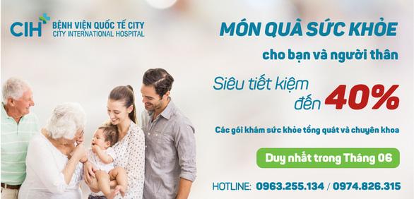Bệnh viện Quốc Tế City tặng quà sức khỏe, tiết kiệm đến 40% - Ảnh 1.