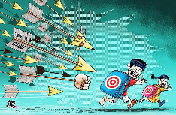 Phải chặn game online tấn công trẻ em - Ảnh 1.