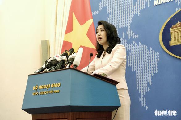 Việt Nam lên tiếng về công thư Mỹ bác bỏ yêu sách Biển Đông của Trung Quốc - Ảnh 1.