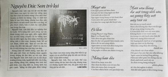 Nhà thơ Nguyễn Đức Sơn - Sơn Núi - vĩnh biệt đồi thông Phương Bối - Ảnh 3.