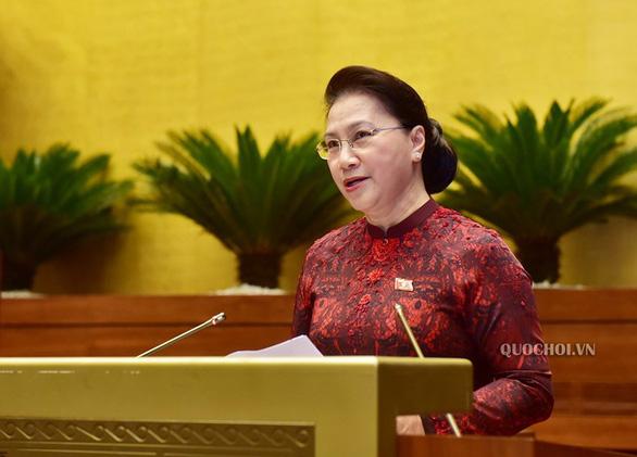 Chủ tịch Quốc hội Nguyễn Thị Kim Ngân giữ chức Chủ tịch Hội đồng bầu cử quốc gia - Ảnh 1.