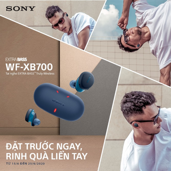 Sony trình làng tai nghe truly wireless đầu tiên của EXTRA BASS™ Series - Ảnh 2.