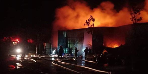Cháy lớn nhà xưởng sát bên Viện Điều tra, quy hoạch rừng ở Hà Nội - Ảnh 3.
