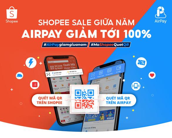 Gói ưu đãi cho người dùng AirPay tại Ngày không tiền mặt 2020 - Ảnh 1.