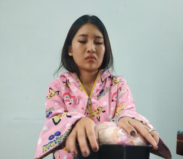 Nữ sinh viên năm 2 cầm đầu đường dây ma túy liên tỉnh - Ảnh 1.