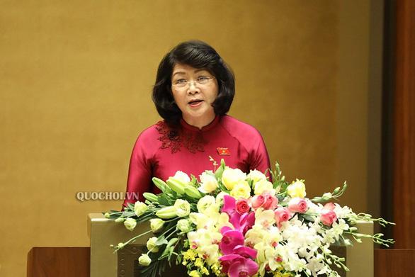 Quốc hội phê chuẩn các phó chủ tịch và ủy viên Hội đồng bầu cử quốc gia - Ảnh 4.