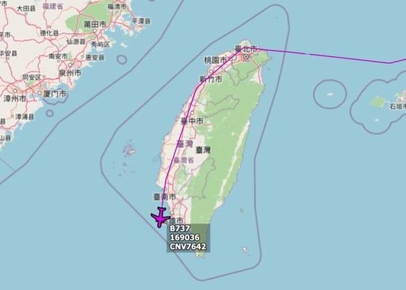 Máy bay quân sự Mỹ bay vào Đài Loan, tiêm kích Trung Quốc xuất kích hàng loạt - Ảnh 1.