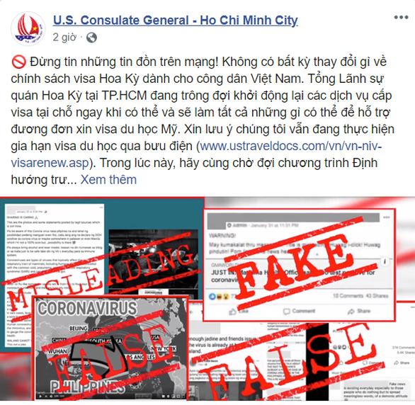 Mỹ bác tin đồn ngừng cấp visa cho du học sinh Việt Nam từ ngày 1-7 - Ảnh 1.
