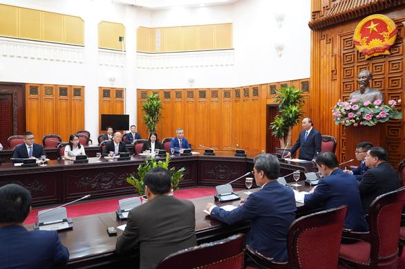 Tiếp doanh nghiệp Trung Quốc, Thủ tướng muốn cùng vun đắp mối quan hệ láng giềng tốt đẹp - Ảnh 1.