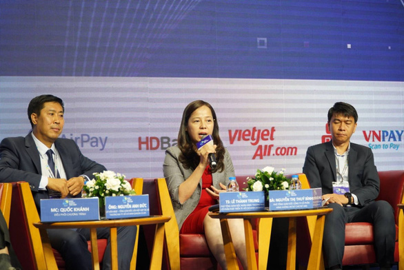 Ngân hàng Nhà nước và doanh nghiệp chung tay thúc đẩy thanh toán không dùng tiền mặt - Ảnh 3.