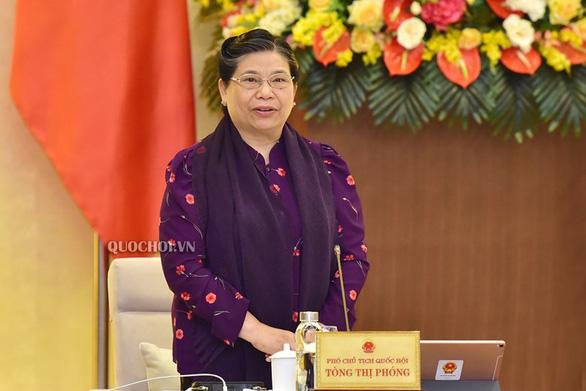 Quốc hội phê chuẩn các phó chủ tịch và ủy viên Hội đồng bầu cử quốc gia - Ảnh 1.