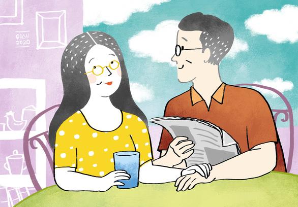 Sao cho bớt cảnh vợ nói, chồng... lơ - Ảnh 1.