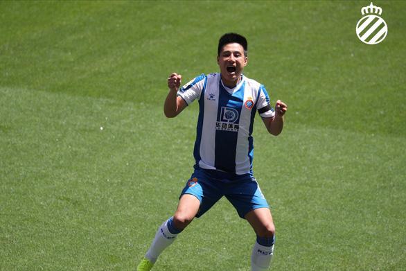 Sao Trung Quốc Wu Lei tỏa sáng giúp Espanyol giành 3 điểm quý giá - Ảnh 1.