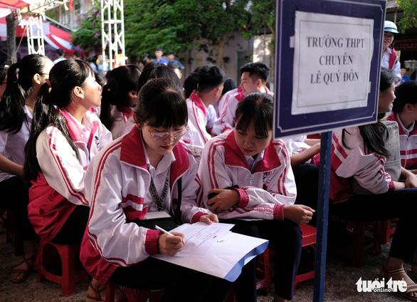 Tư vấn tuyển sinh - hướng nghiệp lần đầu đến Quảng Trị - Ảnh 6.