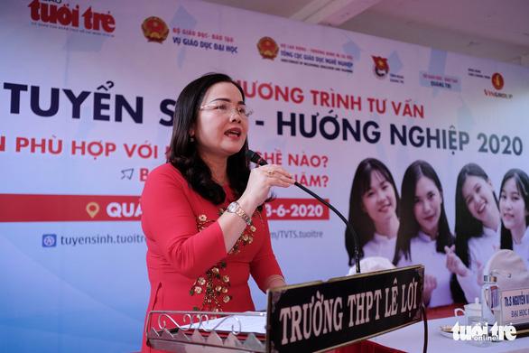 Tư vấn tuyển sinh - hướng nghiệp lần đầu đến Quảng Trị - Ảnh 2.