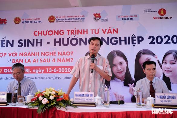 Tư vấn tuyển sinh - hướng nghiệp lần đầu đến Quảng Trị - Ảnh 5.