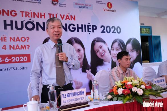 Tư vấn tuyển sinh - hướng nghiệp lần đầu đến Quảng Trị - Ảnh 3.