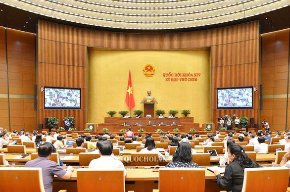 Quốc hội họp tuần cuối của kỳ họp thứ 9, biểu quyết nhiều nghị quyết quan trọng - Ảnh 1.