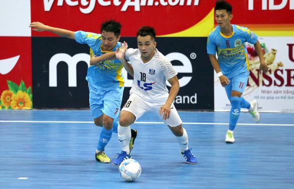 ĐKVĐ Thái Sơn Nam chỉ hòa trong ngày ra quân Giải futsal VĐQG 2020 - Ảnh 1.