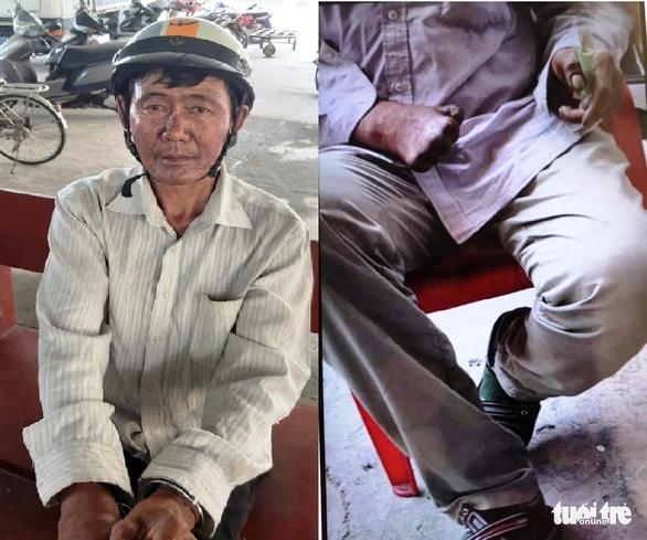 Nghi phạm đốt nhà ở Bình Tân bị bắt khi ăn hủ tiếu, trong người có 3 gói thuốc độc - Ảnh 1.