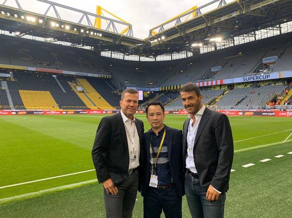 Tổng giám đốc Next Media: Sắp tới  sẽ có một số cầu thủ trẻ được đưa sang Đức đào tạo trong 5 năm - Ảnh 3.