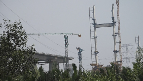 Chưa xác định trách nhiệm vụ hơn 100 trụ cầu cao tốc Bến Lức - Long Thành nứt xà mũ - Ảnh 1.