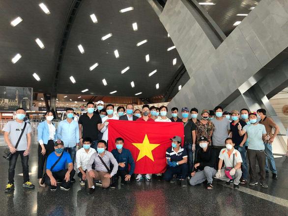 266 công dân Việt Nam từ Kuwait, Qatar, Ai Cập về nước - Ảnh 2.