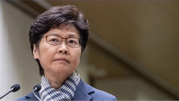 Bà Carrie Lam: 'Ai phản đối luật an ninh là kẻ thù của dân Hong Kong - Ảnh 1.