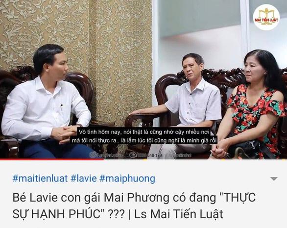 Bảo mẫu con gái Mai Phương kiện luật sư của cha mẹ Mai Phương - Ảnh 2.