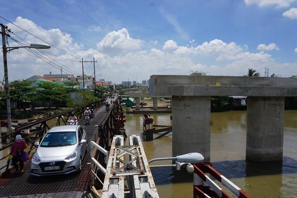 Cầu Long Kiểng hoàn thành sớm, Nhà Bè sẽ thăng hạng - Ảnh 1.