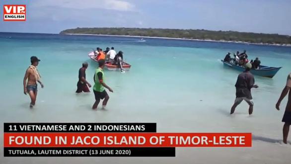 Timor-Leste chặn 11 người Việt vượt biển đi lậu đến Úc - Ảnh 1.
