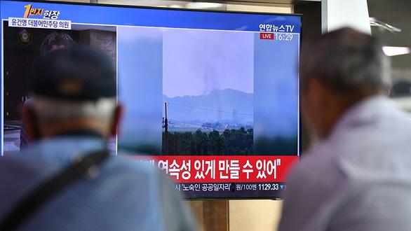 Cho nổ văn phòng liên lạc với Hàn Quốc: Triều Tiên phá bỏ cánh cửa đối thoại - Ảnh 1.